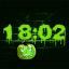 Scary Clock Screensaver